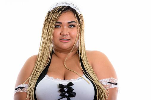 Asian dildo maid sexy