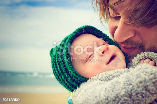 istock Happy father and son 505122502