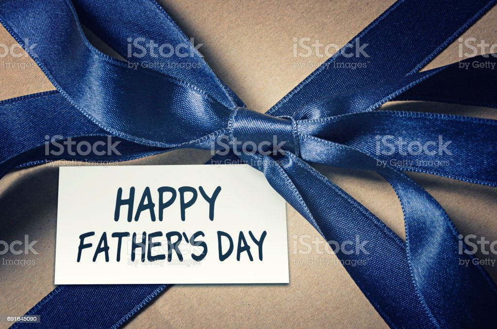 Happy father`s day card stock photo