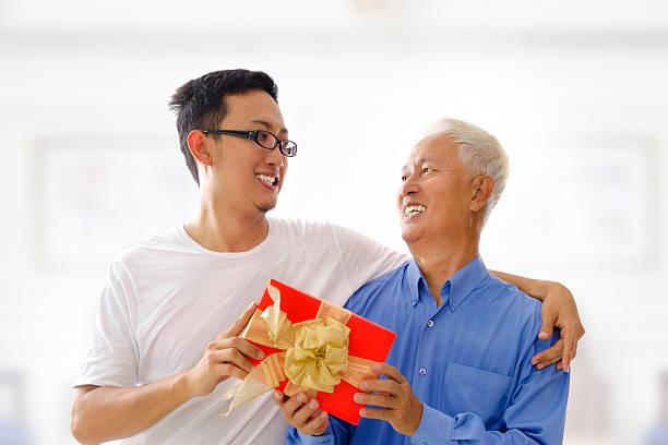 happy father's day - alles gute zum geburtstag sohn stock-fotos und bilder
