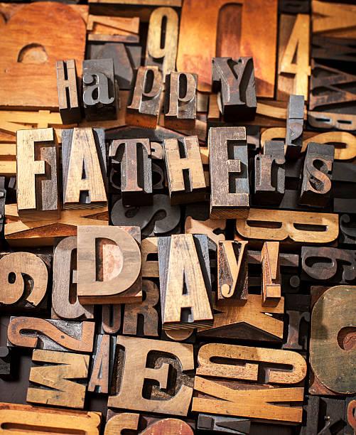 happy father's day - happy mothers day type stock photos and pictures