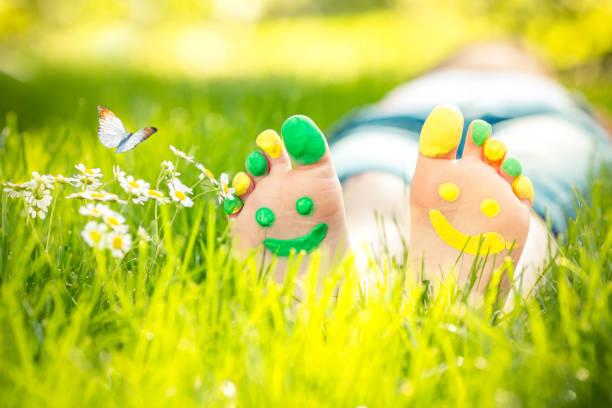 Glückliche Füße – Foto