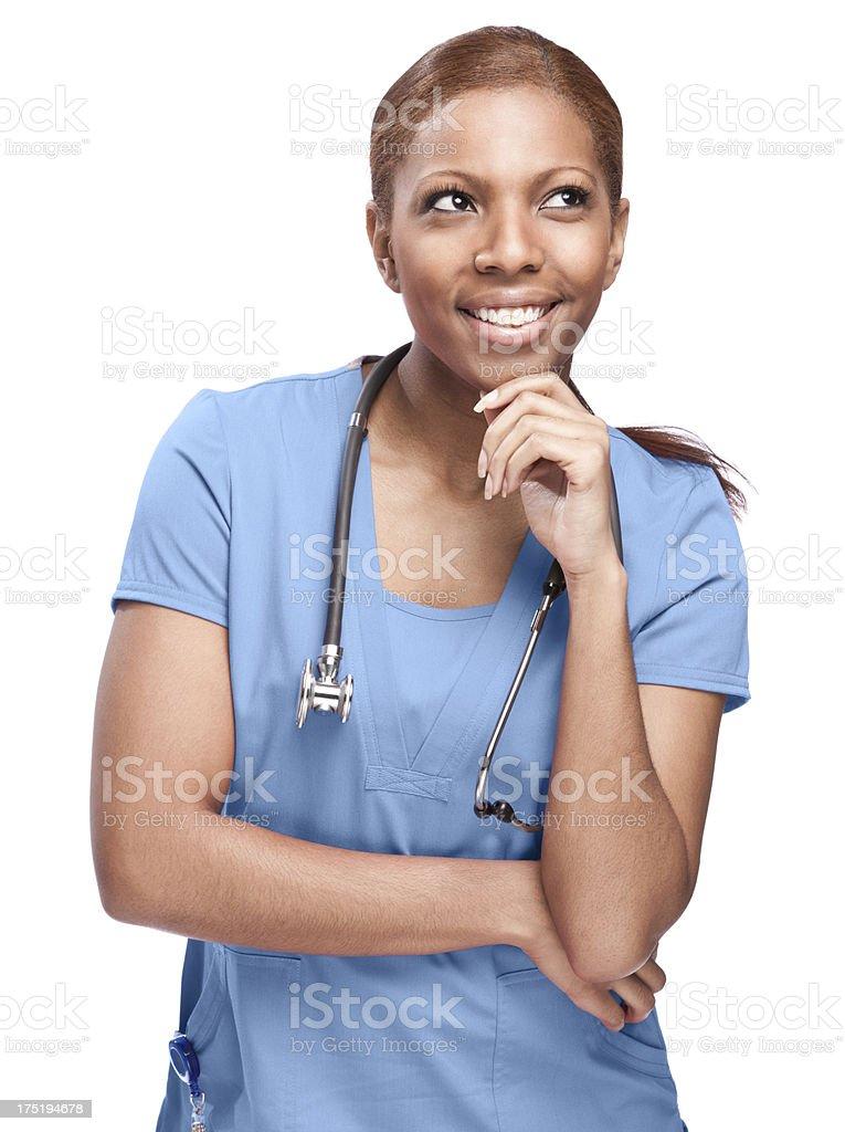 Happy Female Doctor royalty-free stock photo
