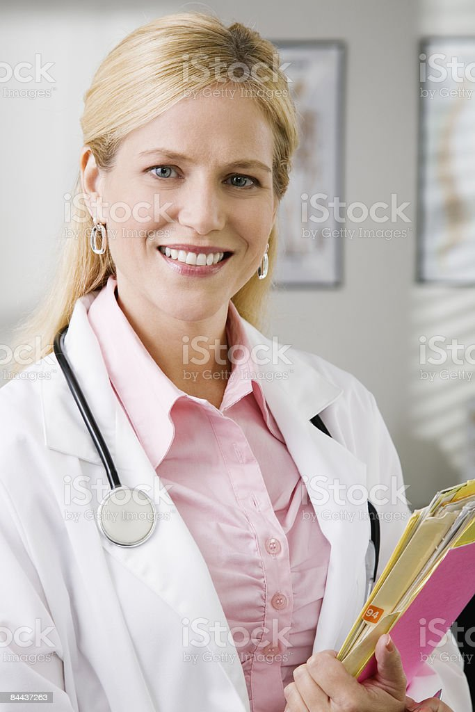 Happy Female Doctor royalty-free stock photo