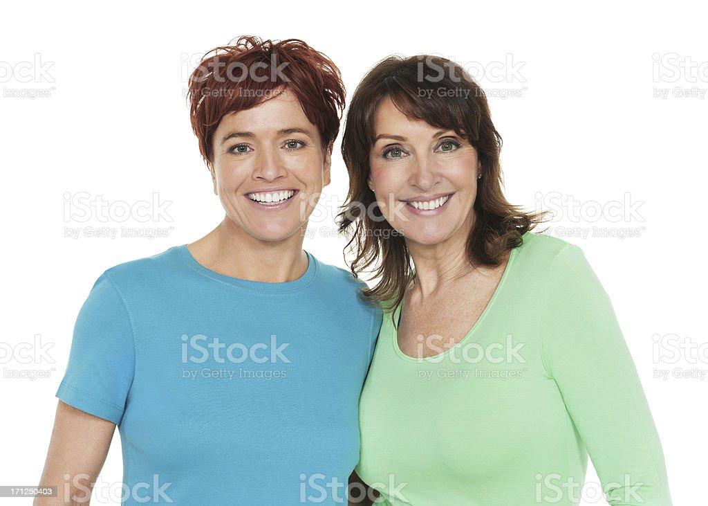 Happy Female Friends royalty-free stock photo
