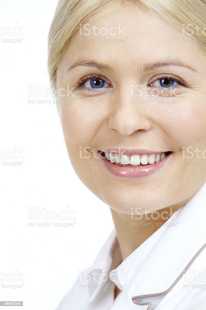 Happy female royalty-free stock photo