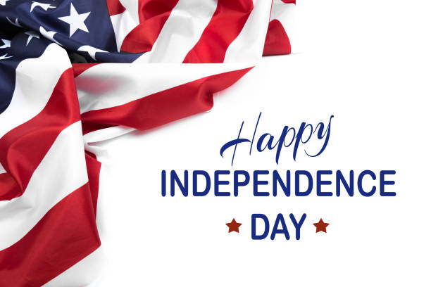happy fourth of july usa flag - image - happy 4th of july stock pictures, royalty-free photos & images