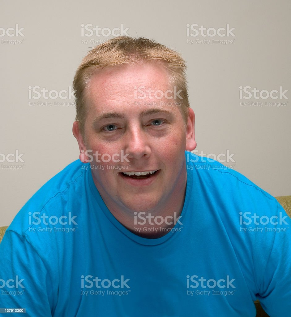 Happy, Friendly Man stock photo