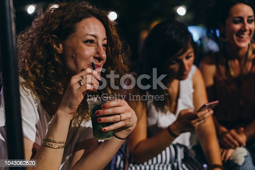 Happy women friends having fun together