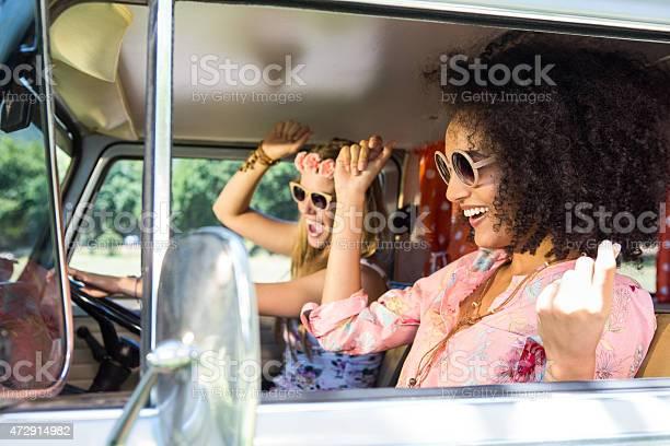 Happy friends on a road trip picture id472914982?b=1&k=6&m=472914982&s=612x612&h=fq7v0pyupng ya52bsiztl9rsdzqqw nl5tsvhl9f4o=
