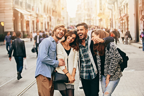 Happy Friends Stock Photo - Download Image Now