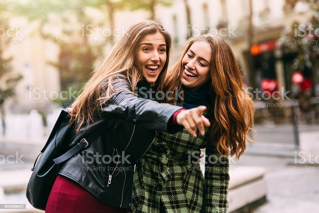 Felizes amigos foto de stock royalty-free