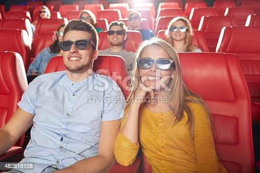istock happy friends watching movie in 3d theater 482515128