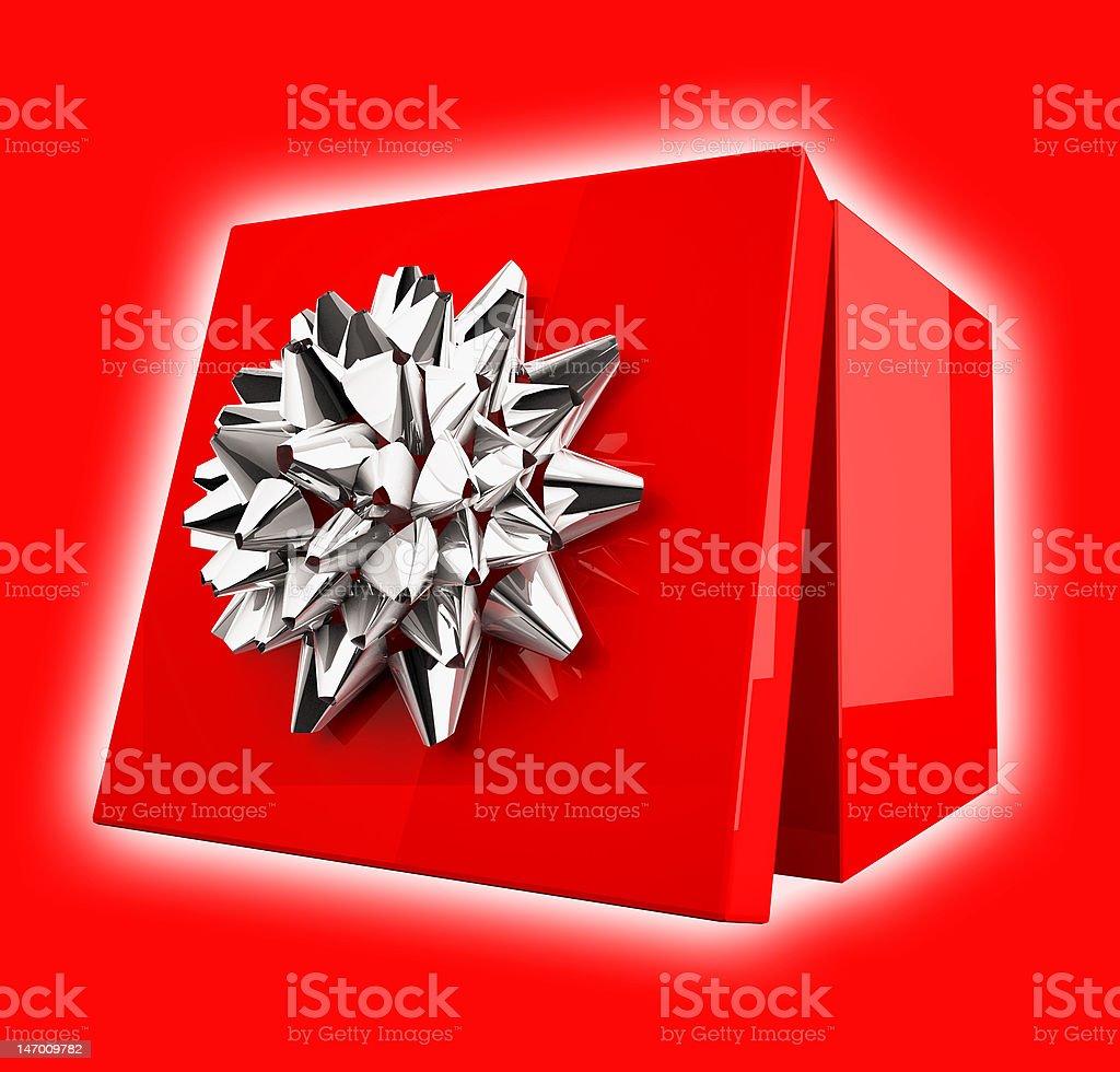 Happy Gift Box royalty-free stock photo