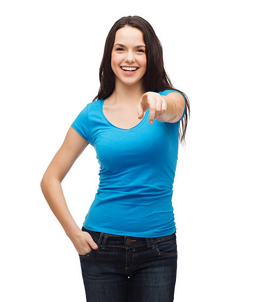 Happy girl in blank blue tshirt pointing at you picture id462387063?b=1&k=6&m=462387063&s=612x612&w=0&h=hkunzx5mswztlugkpxcmutwaifdzsa5vbpxfuphwwlm=