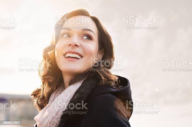 Photo of Happy girl in winter