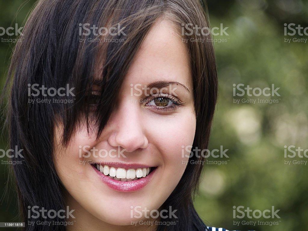 Happy Girl royalty-free stock photo