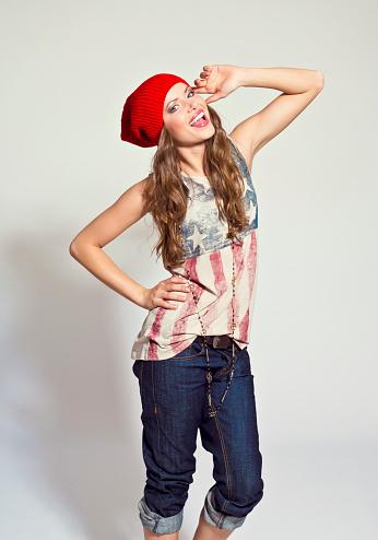 Happy Girl Stock Photo - Download Image Now