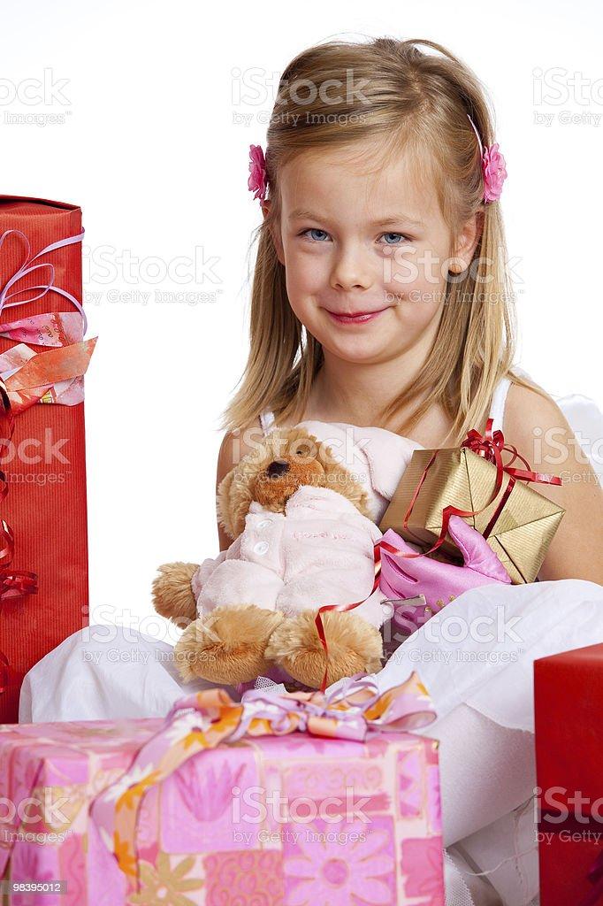 행복함 여자아이 royalty-free 스톡 사진