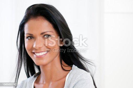 135359671 istock photo Happy girl smile 156985742