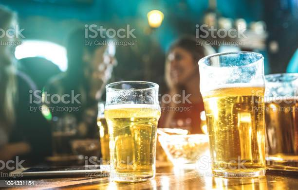 Happy girlfriends women group drinking beer at brewery bar restaurant picture id1064331154?b=1&k=6&m=1064331154&s=612x612&h=fhgk94dkvrtqvs7qdsgyuplpyxvwdl6eaals53rmjxi=