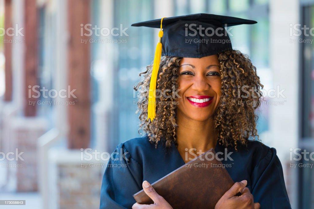Happy Graduate stock photo
