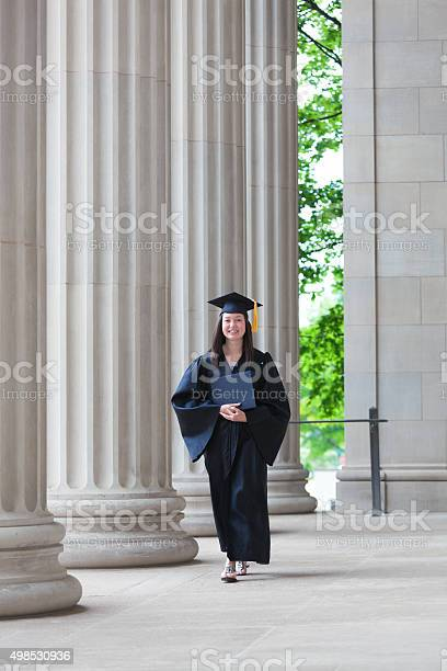 Happy graduating young woman student walking on college campus picture id498530936?b=1&k=6&m=498530936&s=612x612&h=ogf2dle3z2mkdxzqnel3zcbnpwpseztb7zhznxljttm=