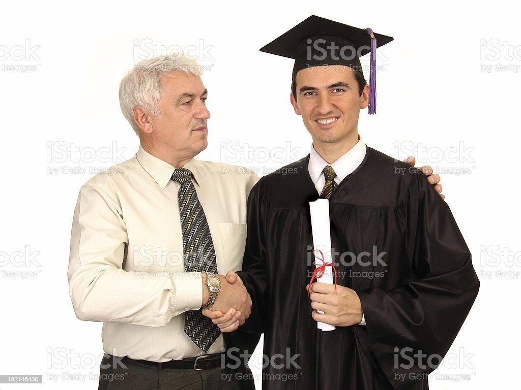 Happy Graduation I royalty-free stock photo