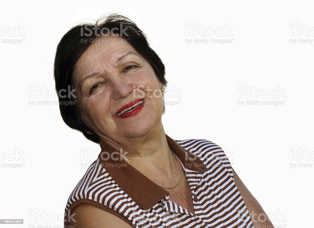 Happy grandmother - Royalty-free Active Seniors Stock Photo