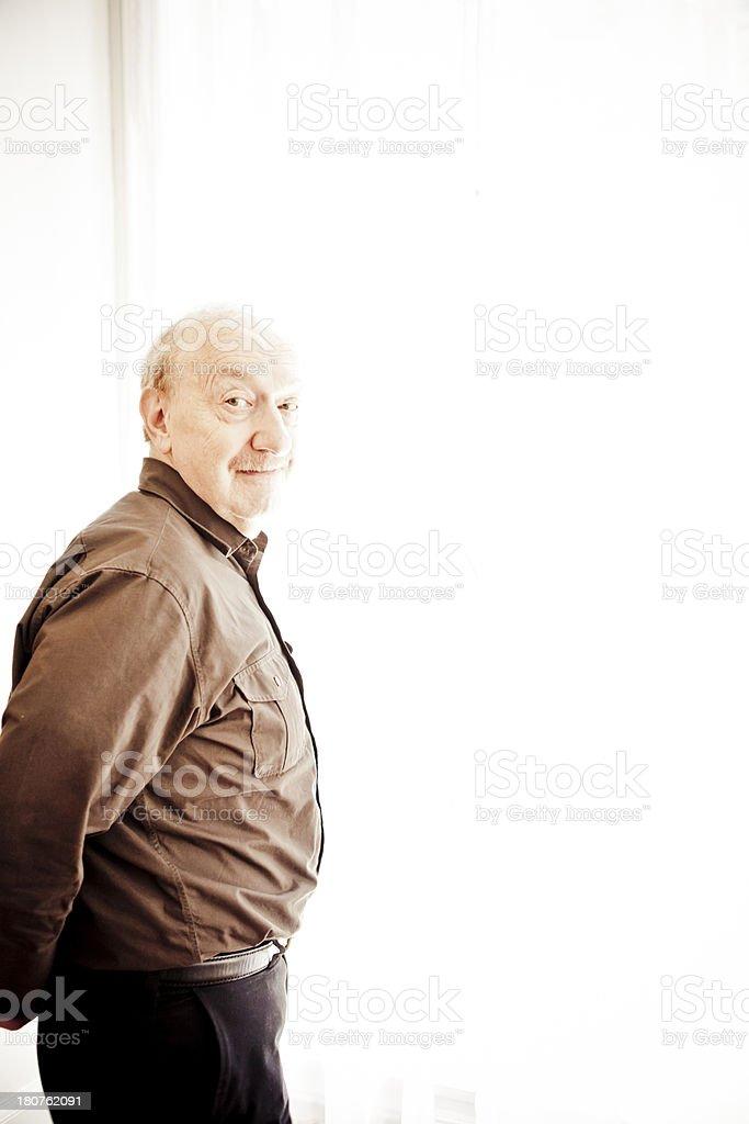 Happy Grandpa royalty-free stock photo