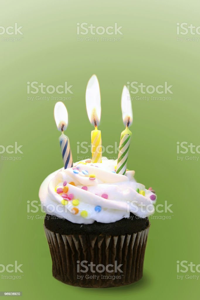 Happy Green Birthday royalty-free stock photo