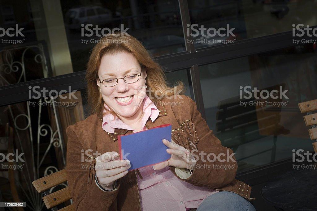 Happy Greeting stock photo