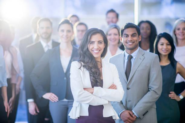 직장인의 행복 그룹 - 사무복 뉴스 사진 이미지