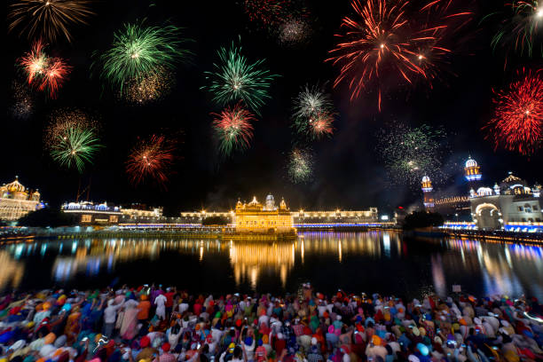 happy gurpurab to all of you - diwali stock pictures, royalty-free photos & images