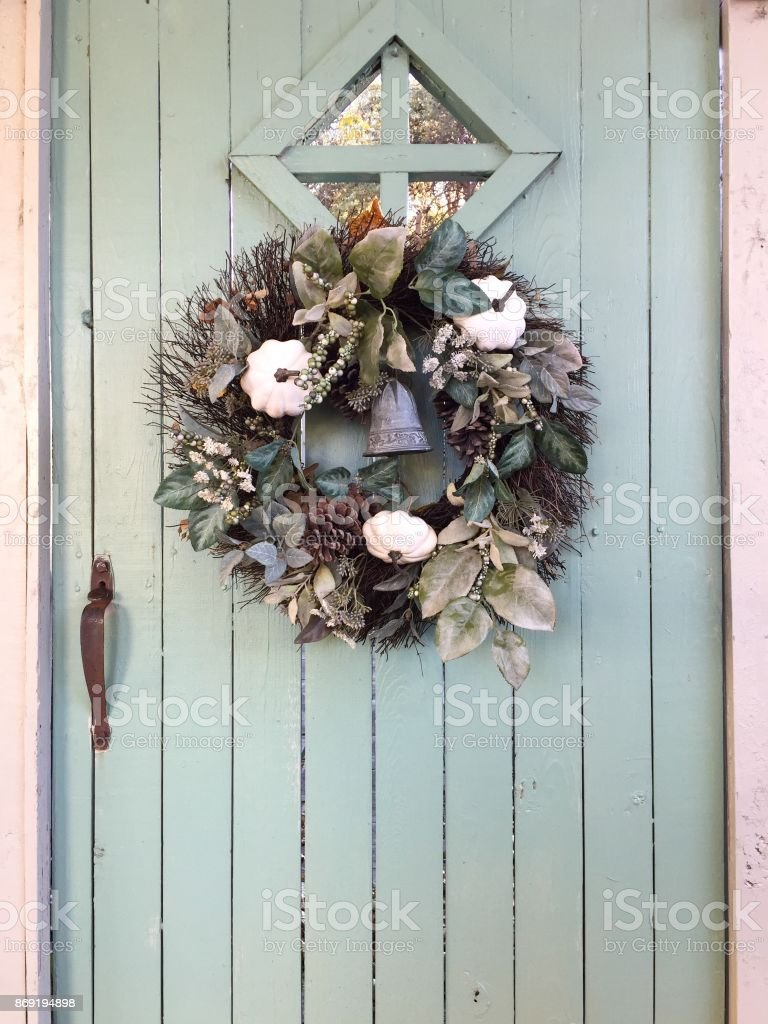 Happy Halloween Gate stock photo