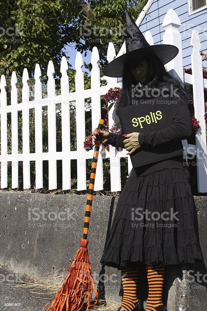 Happy Halloween Witch royalty-free stock photo