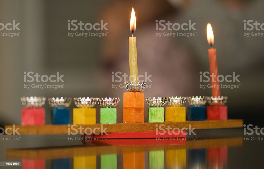happy hanuka stock photo