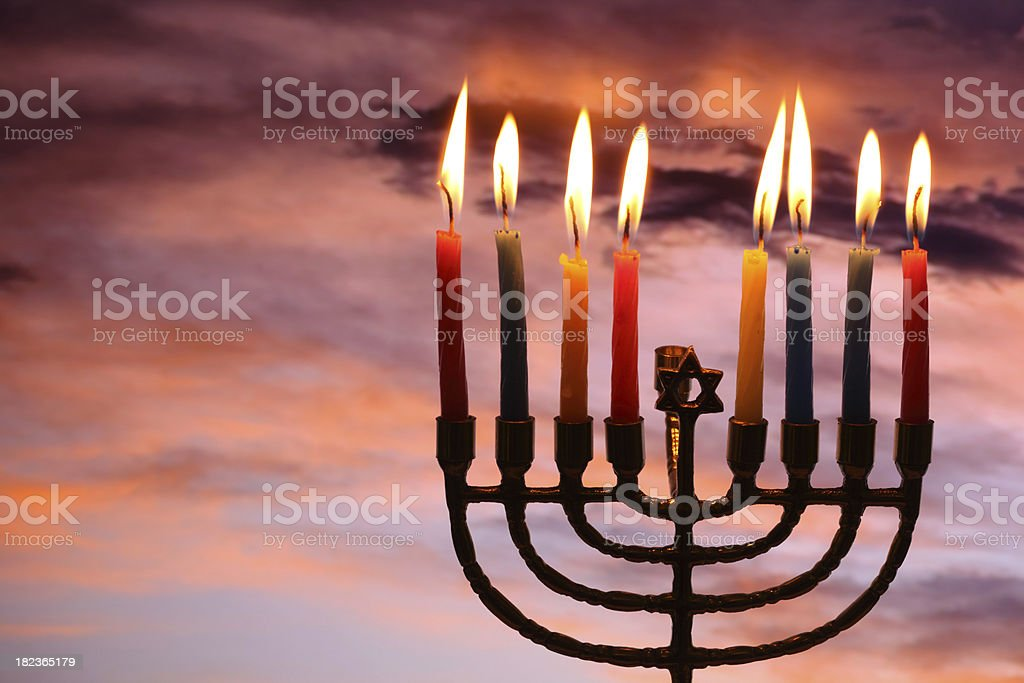 Happy Hanukkah royalty-free stock photo