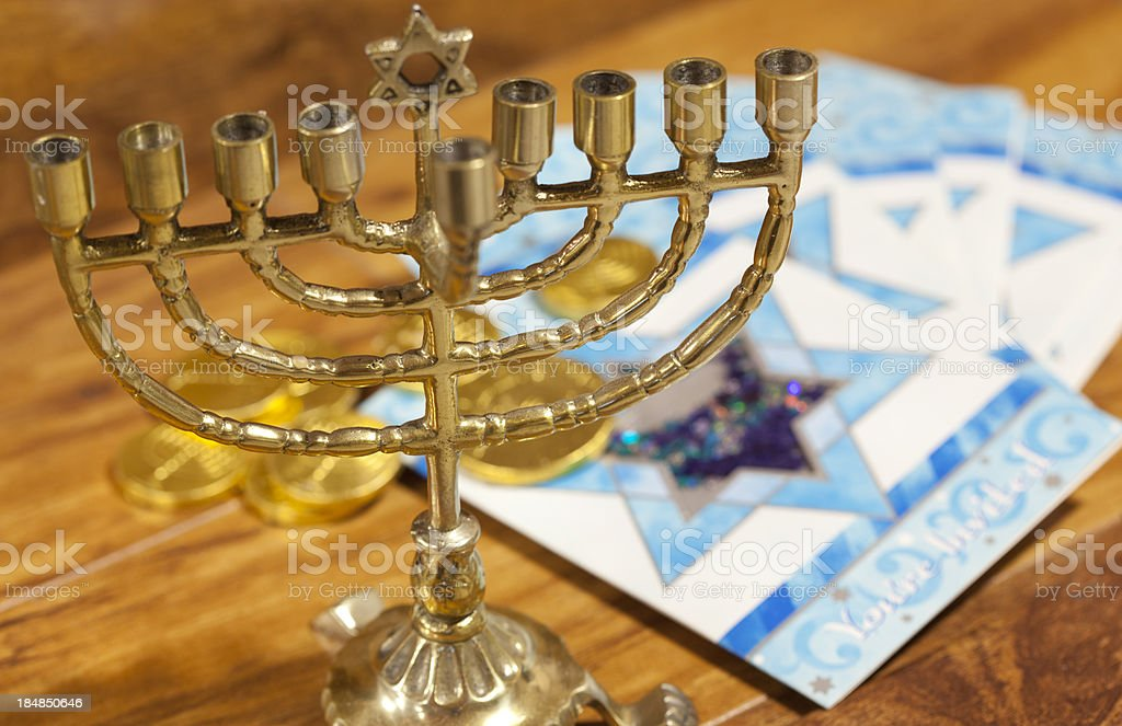 Happy Hanukkah royalty-free stock photo