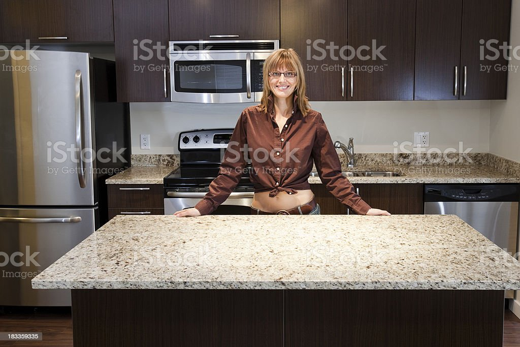 happy homeowner. royalty-free stock photo