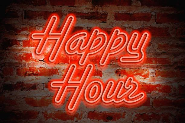 happy hour - happy hour stockfoto's en -beelden