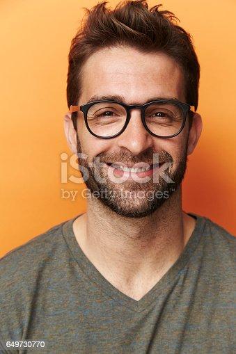 649754038 istock photo Happy in spectacles 649730770