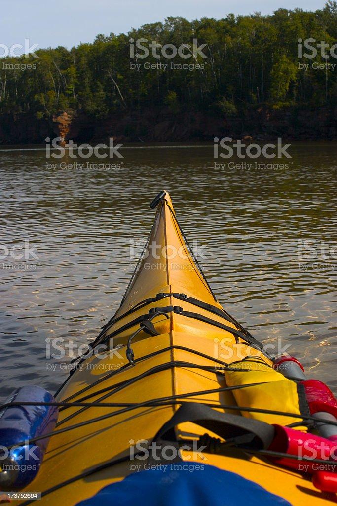 happy kayak stock photo