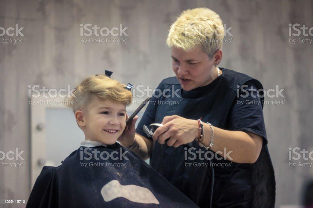 Getting A Haircut 73