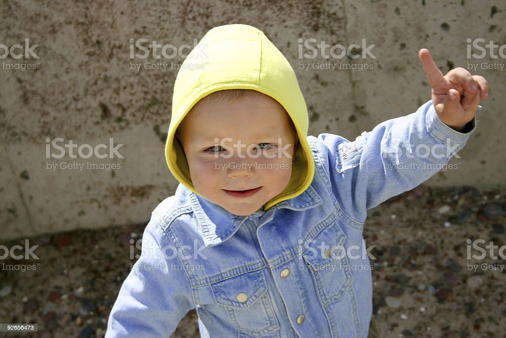 Happy kid III royalty-free stock photo