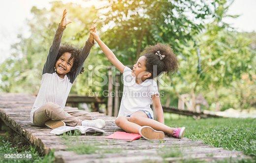 istock Happy kid joyful cheerful 936265148