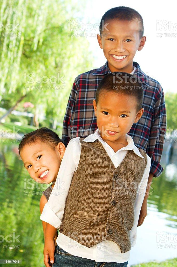 Happy Kids royalty-free stock photo