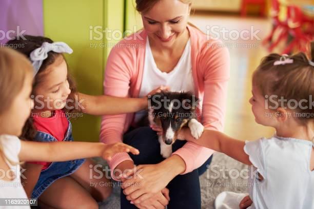 Happy kids stroking cute dog picture id1163920107?b=1&k=6&m=1163920107&s=612x612&h=qtc8swne857ogs5nig nyfg6qvbsstmrgvu8tpjphz4=