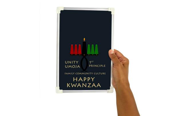 ハッピーなお祝い - クワンザ ストックフォトと画像