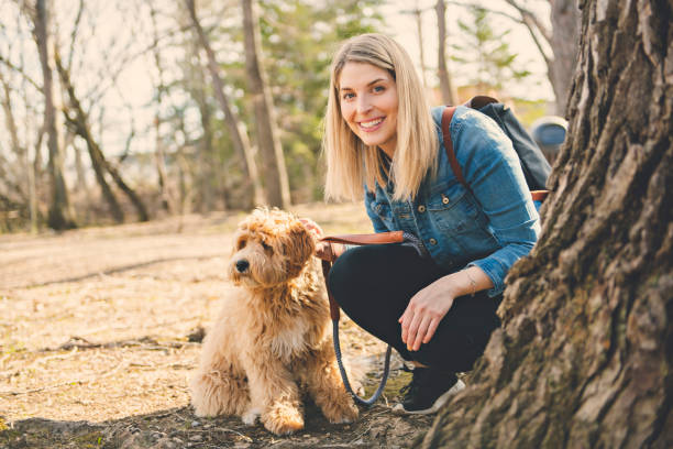Happy labradoodle dog and woman outside at the park picture id1147998679?b=1&k=6&m=1147998679&s=612x612&w=0&h=htacxu5viftgwfzsdf i4cky3epumsyjawxtbuugeqo=